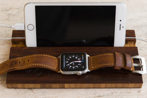 Apple Watch Charging Dock with Personalization