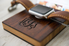 Docking Station Apple Watch Dock iPhone iPad Boyfriend Personalized Men Phone Charging iWatch Gift