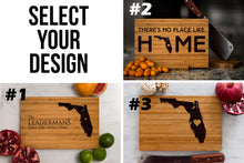 Florida State Engraved Cutting Board, Personalized