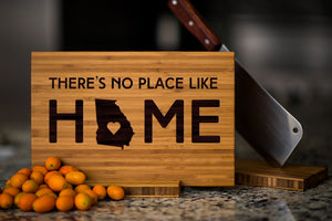 Georgia State Engraved Cutting Board, Personalized