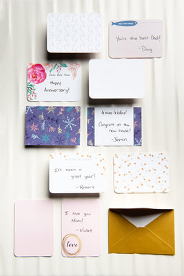 Custom Handwritten Greeting Cards