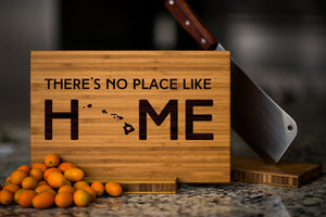 Hawaii State Engraved Cutting Board, Personalized
