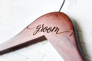 Bridesmaid & Groomsman Dress and Tux Hangers (Quantity Discount)