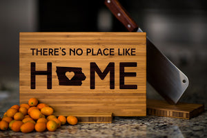 Iowa State Engraved Cutting Board, Personalized