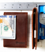 The Islamorada Personalized Slim Leather Wallet