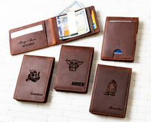 Star Wars Inspired - The Islamorada Personalized Slim Leather Wallet