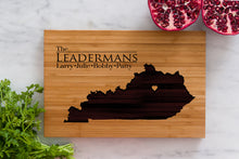 Kentucky State Engraved Cutting Board, Personalized