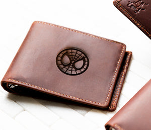 Super Hero Inspired The Key Largo Personalized Slim Leather Wallet