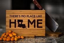 Louisiana State Engraved Cutting Board, Personalized