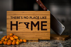 Maryland State Engraved Cutting Board, Personalized