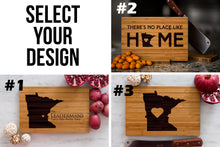Minnesota State Engraved Cutting Board, Personalized