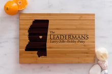 Mississippi State Engraved Cutting Board, Personalized