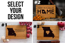 Missouri State Engraved Cutting Board, Personalized