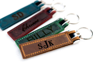 The Miami Personalized Keychain