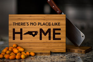 North Carolina State Engraved Cutting Board, Personalized