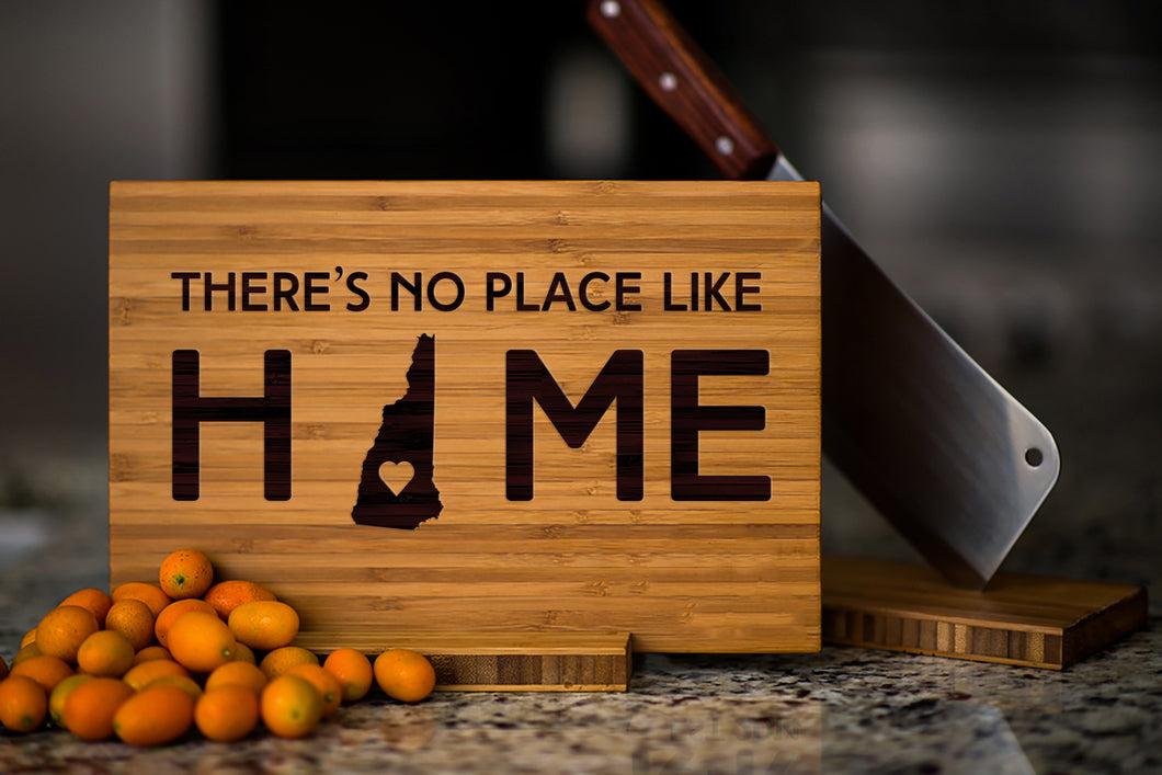 New Hampshire State Engraved Cutting Board, Personalized
