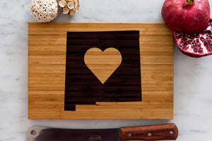 New Mexico State Engraved Cutting Board, Personalized