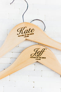 Wedding Dress & Bridesmaid Hangers (Quantity Discount)