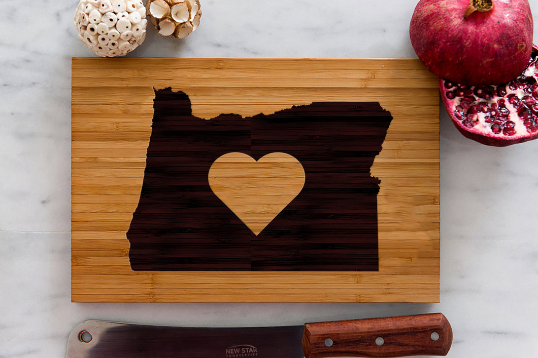 Oregon State Engraved Cutting Board, Personalized