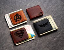Hero Inspired Leather Magnetic Money Cash Clip The Palm Beach by Left Coast Original