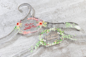 Resin Hangers Laser Cut Personalized | 3 Shapes to Choose From