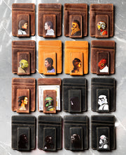Cameo Star Wars Inspired Personalized Leather Magnetic Money Clip
