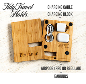 TidyTravel Magnetic Stand Personalized Phone or Tablet Dock