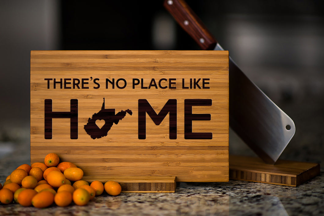 West Virginia State Engraved Cutting Board, Personalized