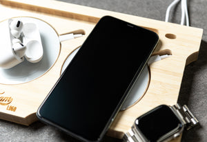 Wireless Charging Station - iPhone, Apple Watch and Airpods