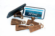 The YouTube Personalized Leather Keychain