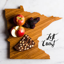 Minnesota Cutting Board Personalized State Wedding Gift Home Men Chef Dad Mom Grad Monogram Engraved