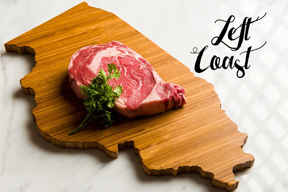 Full view of the Illinois State Shaped Cutting Board