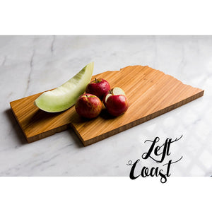 Nebraska Cutting Board Personalized State Wedding Gift Home Men Chef Dad Mom Grad Monogram Engraved