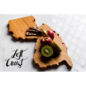 New Jersey Cutting Board Personalized State Wedding Gift Home Men Chef Dad Mom Grad Kitchen Chopping Monogram Engraved Carved Wood Shape