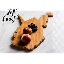 West Virginia Cutting Board Personalized State Wedding Gift Home Men Chef Dad Mom Grad Engraved