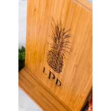 Pineapple Personalized Cutting Board Wedding Men Mom Dad Gift Anniversary Engraved Monogram