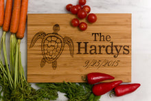 Sea Turtle Cutting Board Personalized