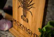 Personalized Cutting Board Wedding Lobster New England Anniversary Family Name Engraved