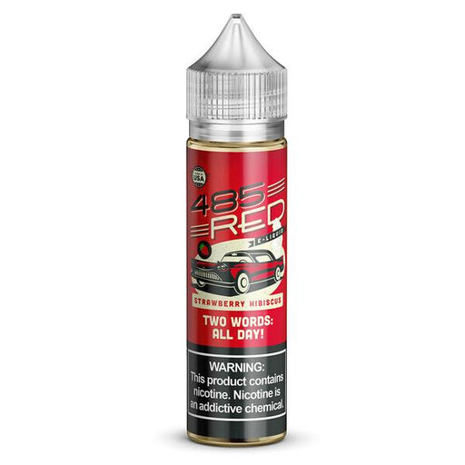 485 Red - Strawberry Hibiscus - Vapor in a Bottle