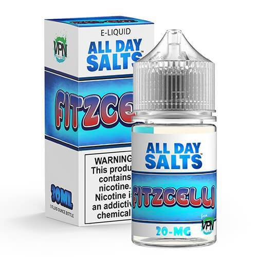 VPN E-Liquid - All Day Salts - Fitzcelli - Vapor in a Bottle