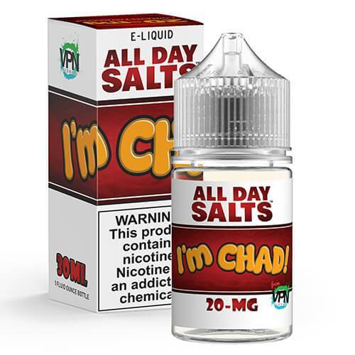 VPN E-Liquid - All Day Salts - I'm Chad