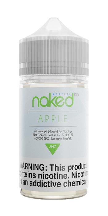 Naked 100 - Menthol - Apple
