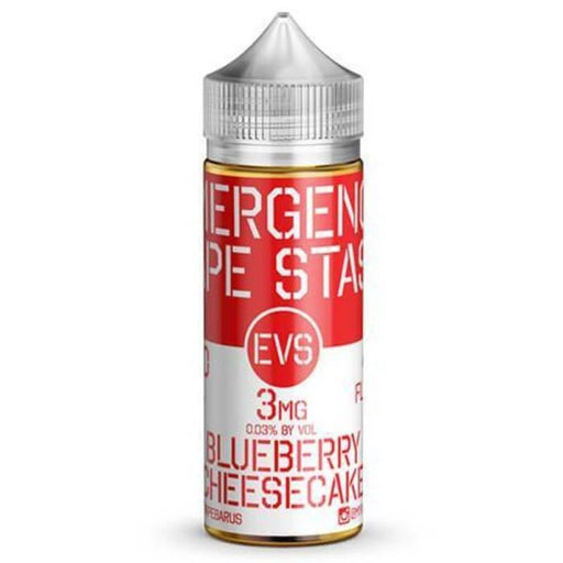 EVS - Emergency Vape Stash - Blueberry Cheesecake - Vapor in a Bottle