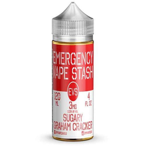 EVS - Emergency Vape Stash - Sugary Graham Cracker - Vapor in a Bottle