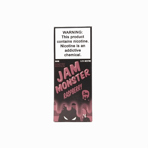 Jam Monster - Raspberry - Vapor in a Bottle