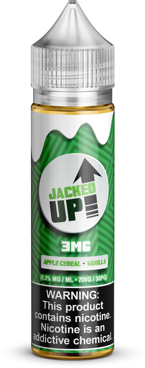 Stacked Up E-Liquids - Jacked Up - Vapor in a Bottle