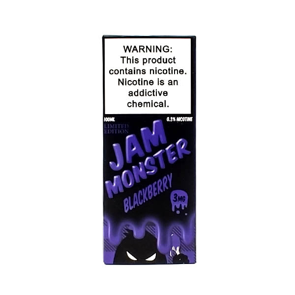 Jam Monster - Blackberry - Vapor in a Bottle