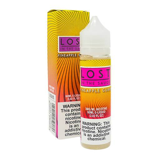 Lost in the Sauce - Pineapple Guava - Vapor in a Bottle