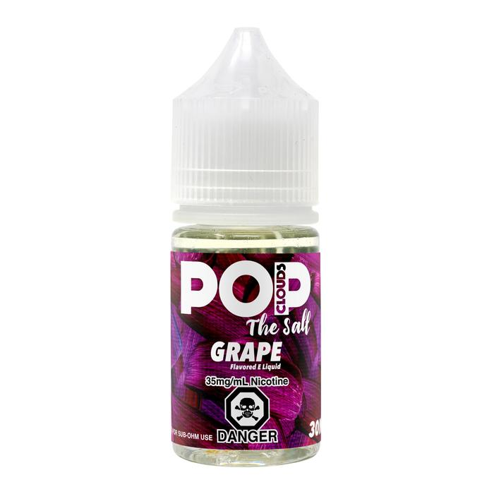 Pop Clouds Salts - Grape - Vapor in a Bottle