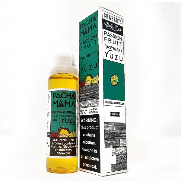 PachaMama - Passion Fruit Raspberry Yuzu - Vapor in a Bottle